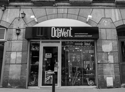 Octavent le magasin la devanture